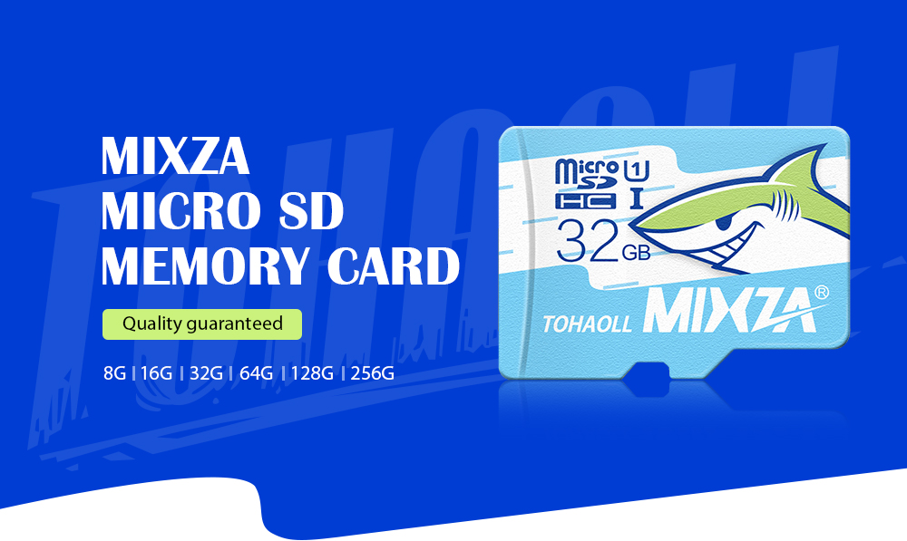 MIXZA TOHAOLL Ocean Series U3 64GB Micro SD Memory Card - COLORMIX 64GB- Navy Blue 64GB