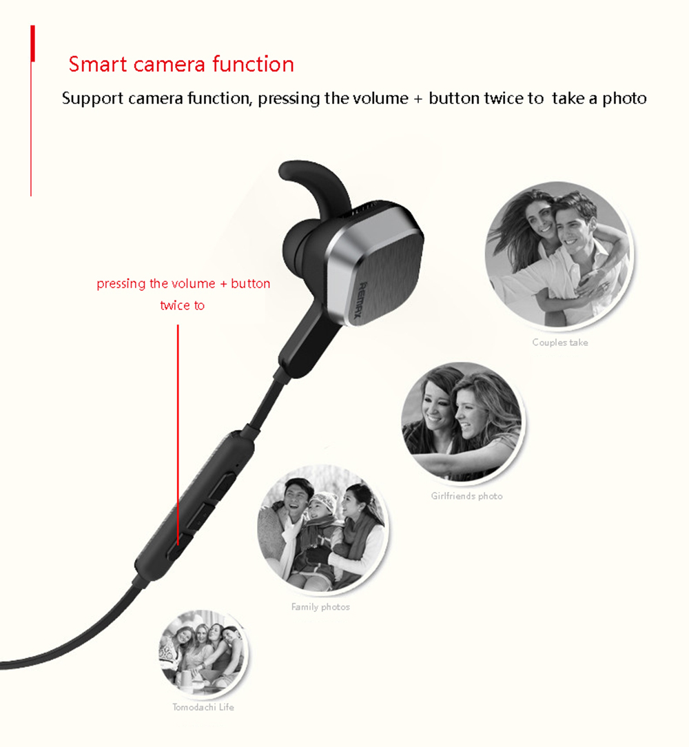 Remax Rb S2 Magnetic Sports Bluetooth Headset Earphone Sale Price Reviews Gearbest