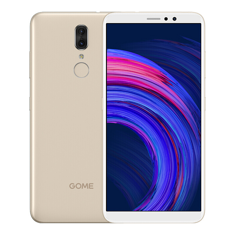 GOME Fenmmy Note C7 note PIUs Version Internationale Noir 4+64G