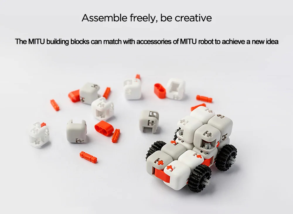 Xiaomi MiTU Puzzle Building Blocks Anti-Stress Toy- Multi-A