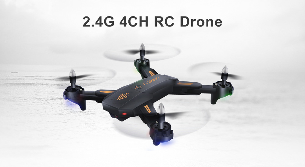 XDN 378 2 4G 4CH Foldable RC Drone - RTF Altitude Hold Quadcopter