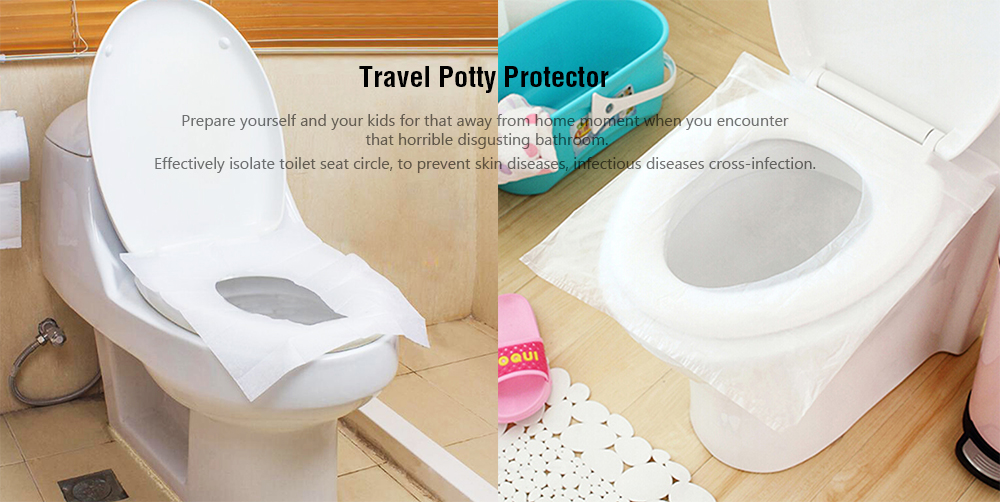1 bag 10 pieces travel set disposable toilet seat cover water rh gearbest com