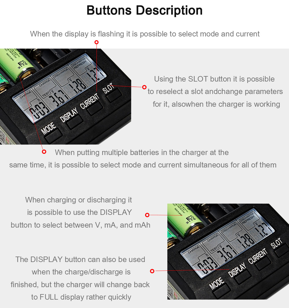 Opus Bt C3100 V22 Smart Battery Charger 4137 Free Shipping Circuit 1 Html Further Nimh Digital Intelligent 4 Slots Lcd For Li