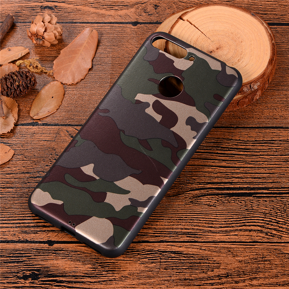 for Huawei Y6 2018 / Y6 Prime 2018 Case Soft TPU Silicon Camouflage Cover