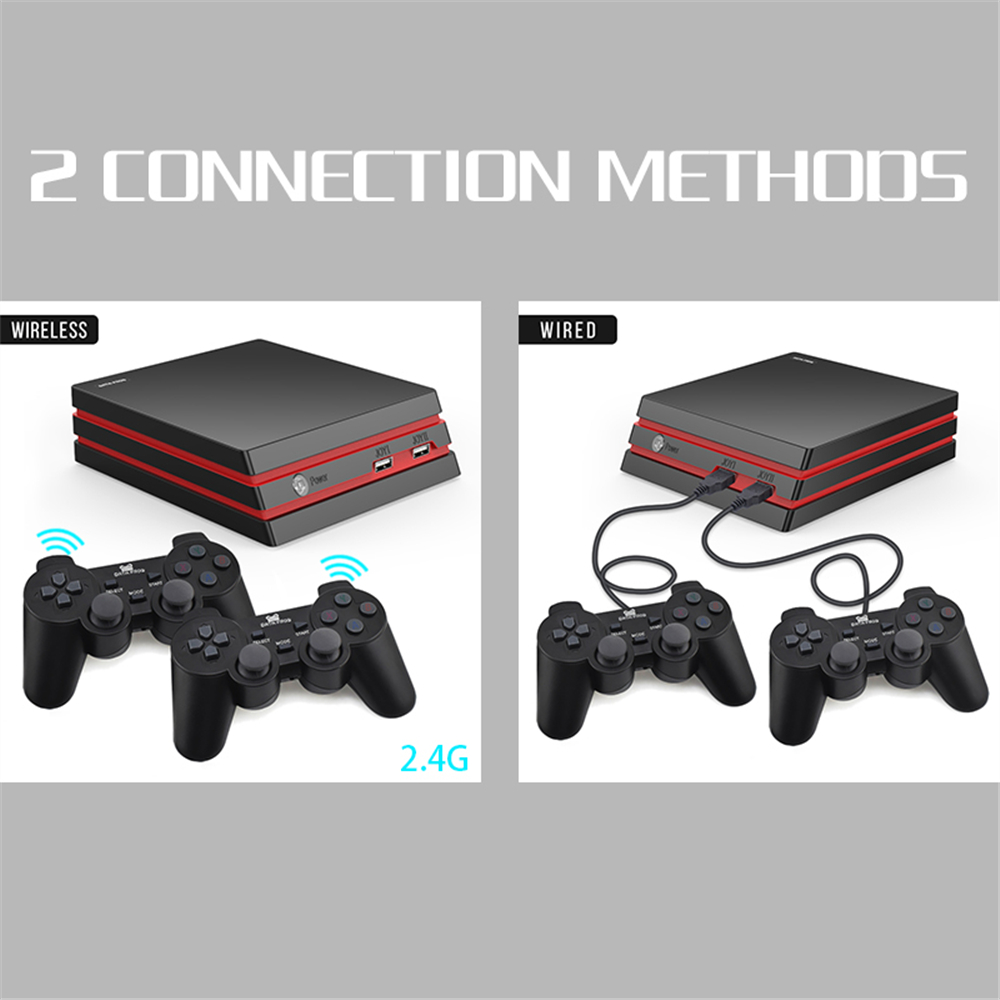 cb71c5b4db7 Data Frog HDMI Video Console With 2.4G Wireless 600 Classic Games For  Family TV-