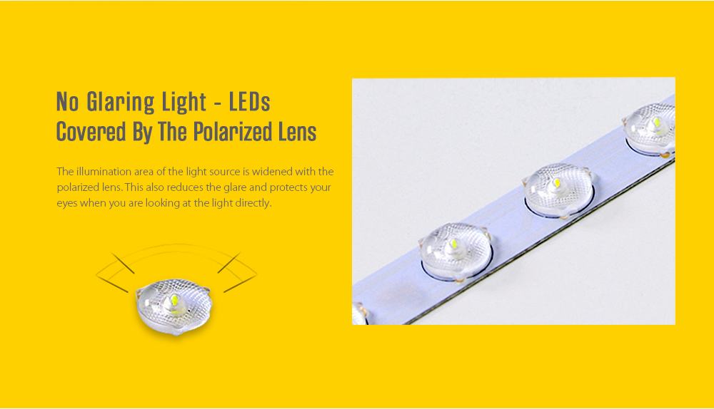 Utorch UT40 PZE - 911 - XDD Smart Voice Control LED Ceiling Light Support with Alexa / Google Home- White 40cm