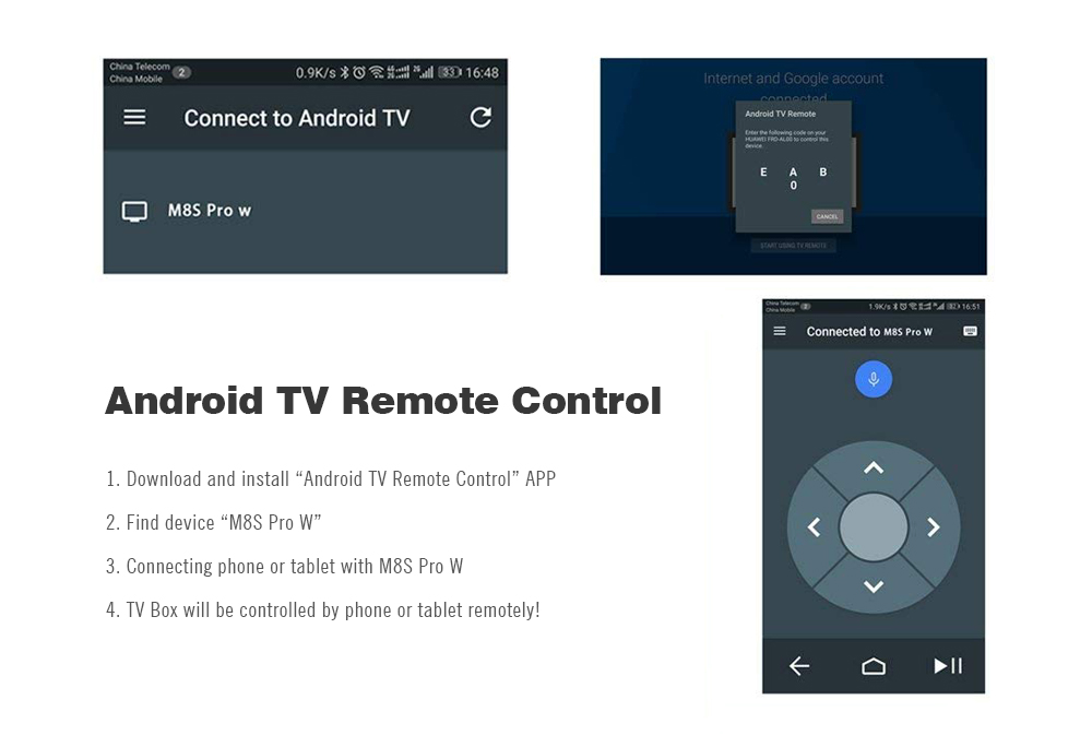 Mecool M8S PRO W 2 4G with Andriod OS Support TV Box