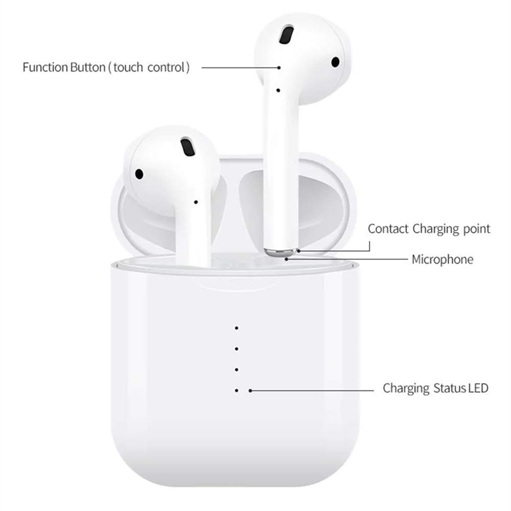 i10 TWS Bluetooth Earphones Stereo Wireless Charging Earbuds Bluetooth 5 0