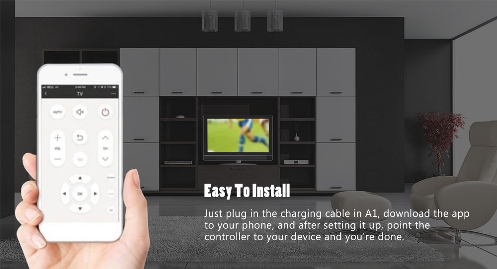 TV Set-top Box Remote Control Infrared Air Conditioner Wifi Mobile Phone  Universal Remote Control Smart Remote Control