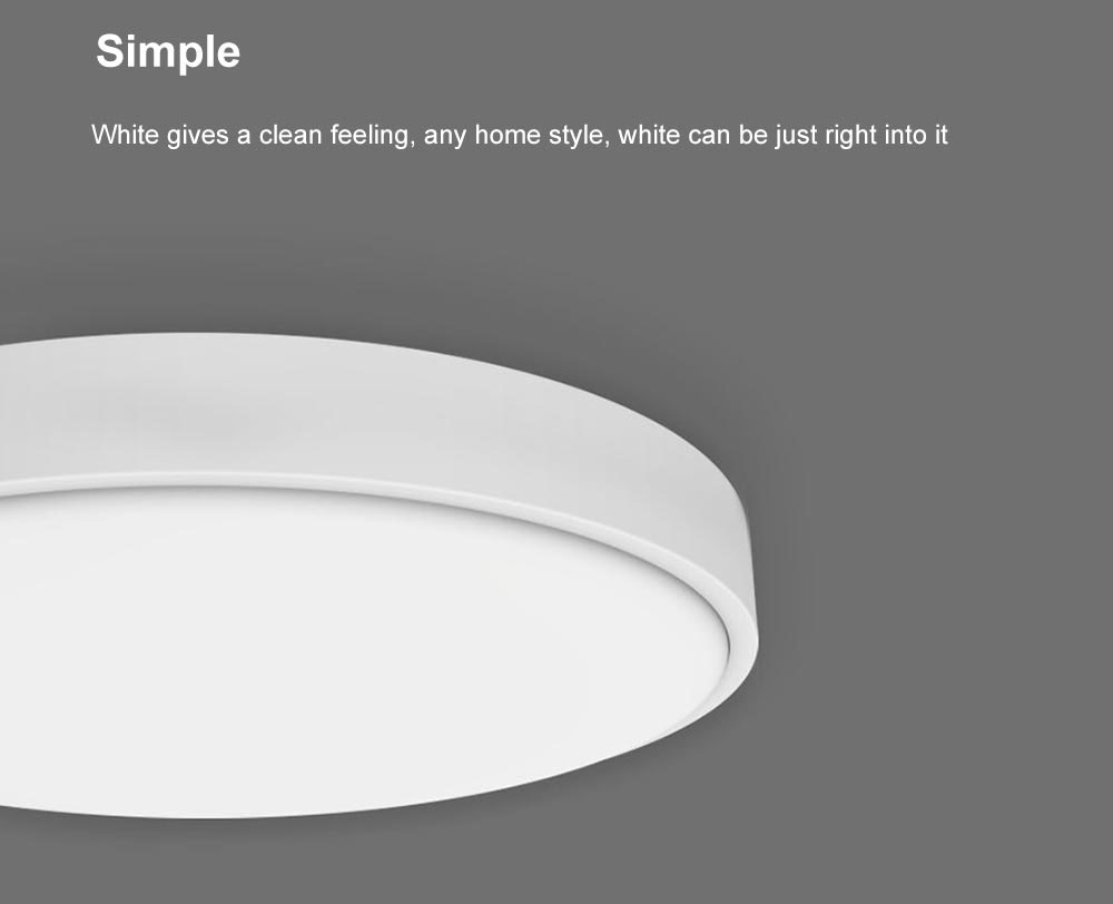 Yeelight 35W Nox Diamant Rond Smart LED Plafonnier- Blanc