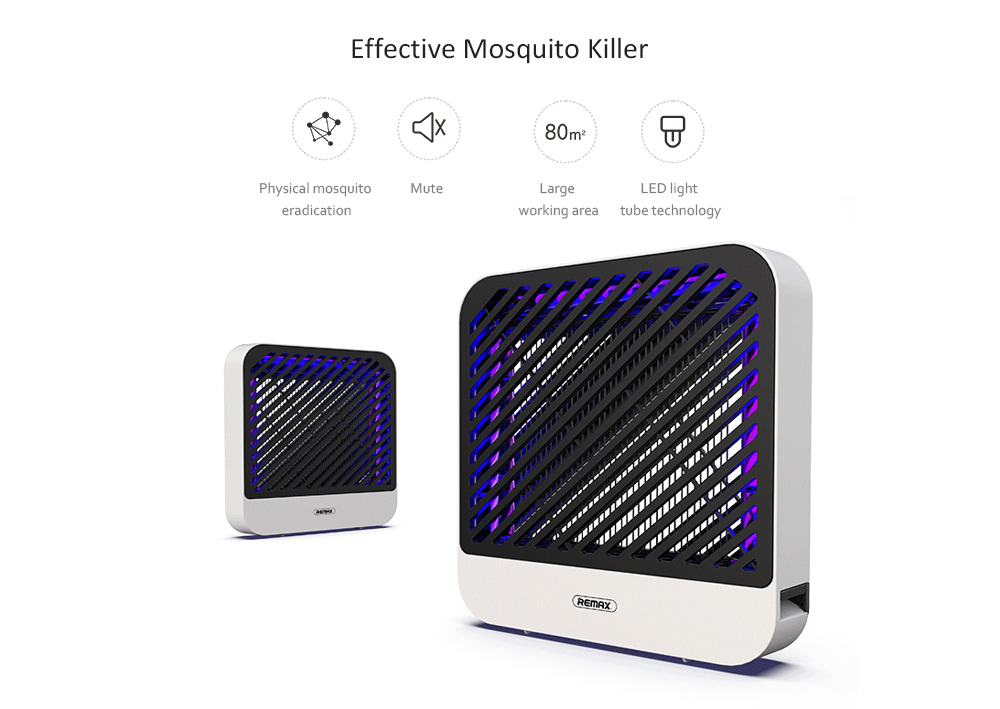 Remax RT-MK03 Electronic Mosquito Killer Electric Shock Type Lightweight