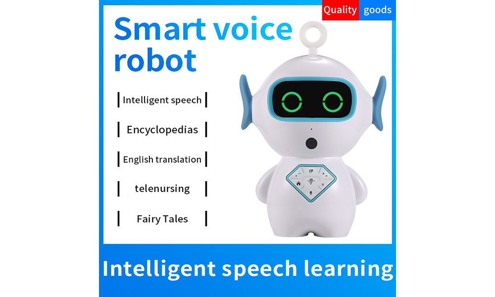 V829 Children's Intelligent Voice Robot Learning Story Machine