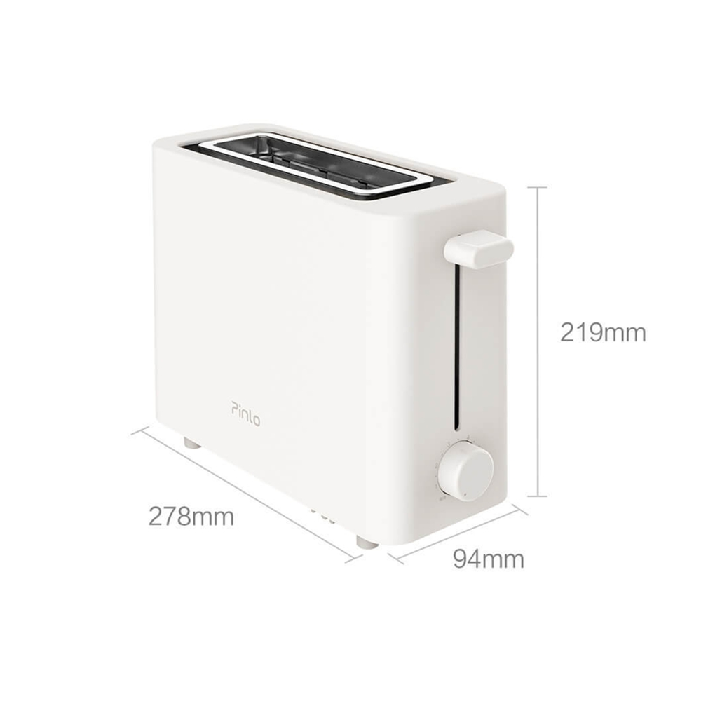 For Xiaomi Mijia Pinlo Multifunction Electric Breakfast Machine Toast Grill Oven- White