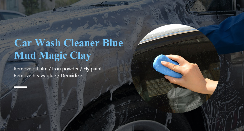 Car Wash Cleaner Blue Mud Magic Clay Auto Cleaning Remove Detailing Cleaners - Blue Ivy