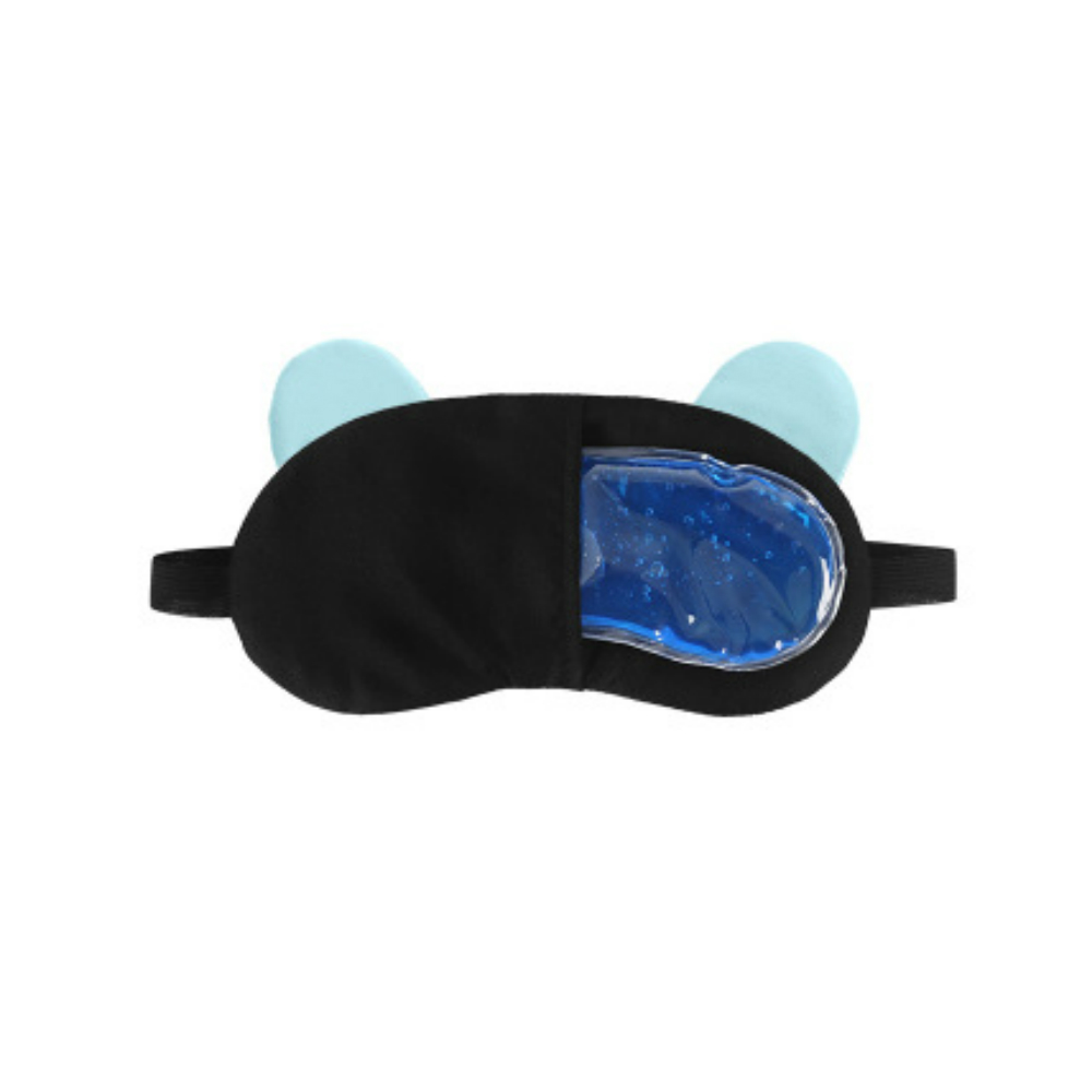 Cartoon Sleep Stereoscopic Eyeshade- Light Brown