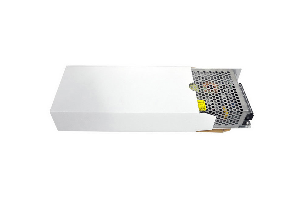 AC 110 / 220V to DC 12V 15A 180W LED Switching Power Supply- Silver