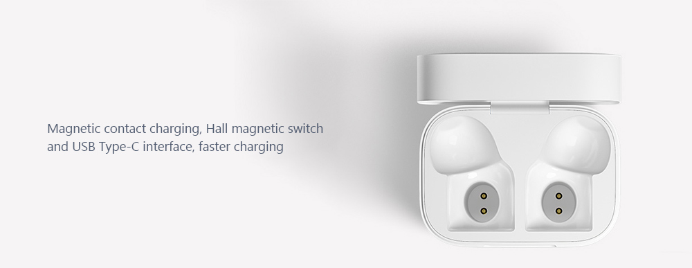 Xiaomi Mi Airdots Pro Binaural TWS Bluetooth Earphones Wireless AAC HD Earbuds with Mic and Charging Dock- White