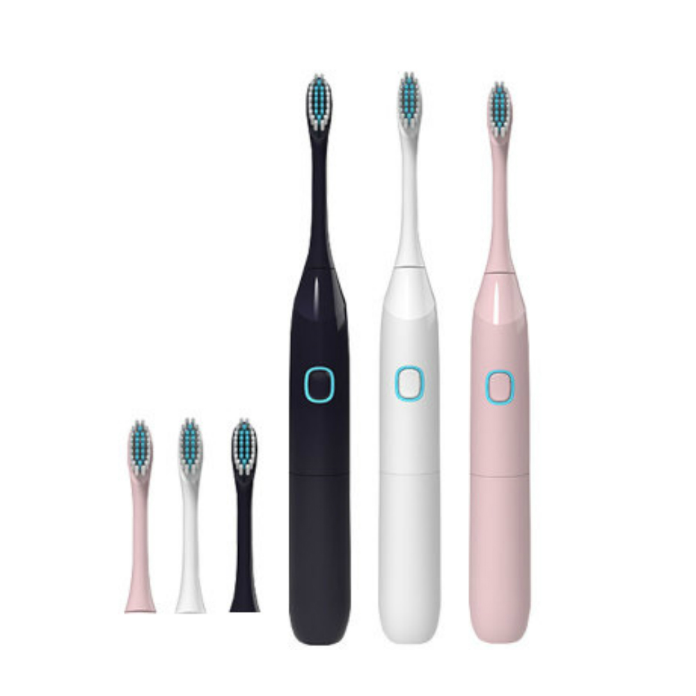 Adult Soft Hair Electric Toothbrush- Light Pink