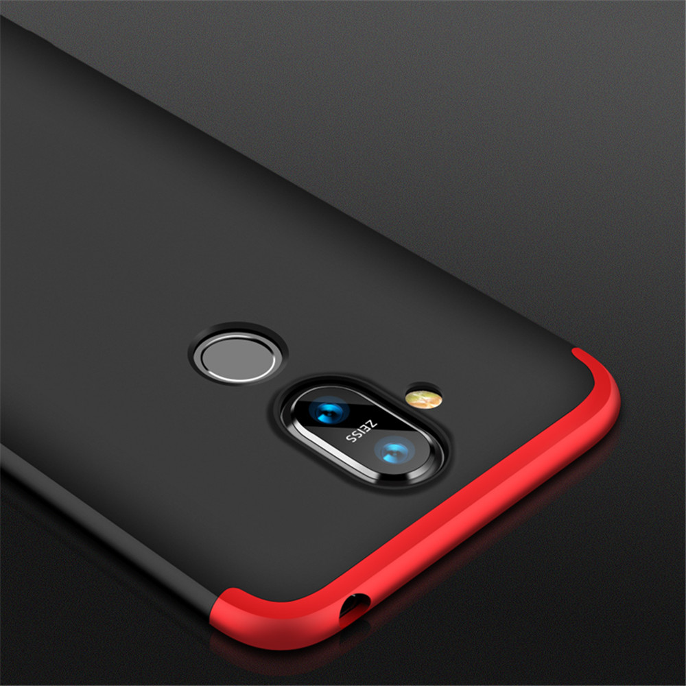 Shockproof Ultra-Thin Phone Full Cover Case for Nokia X7- Multi-B