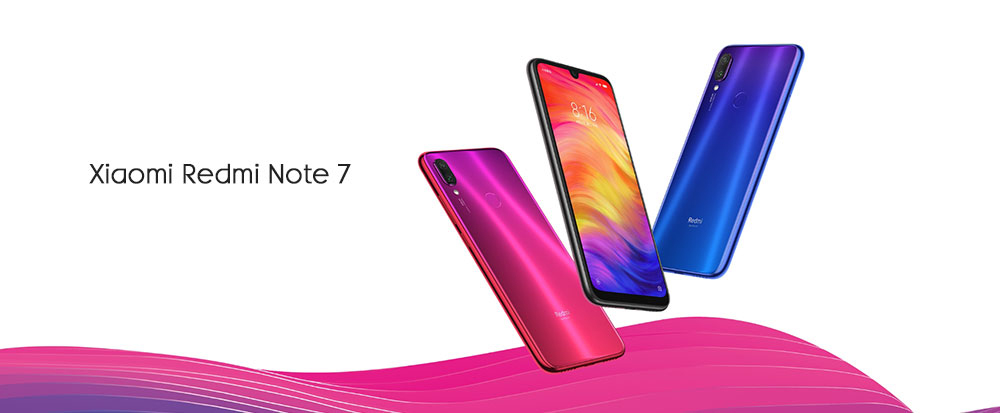 Xiaomi Redmi Note 7 4G Phablet 6.3 inch Android 8.0 Qualcomm Snapdragon 660 Octa Core 2.2GHz 6GB RAM 64GB ROM Triple Camera Fingerprint Sensor 4000mAh ( typ ) / 3900mAh ( min ) Built-in- Blue