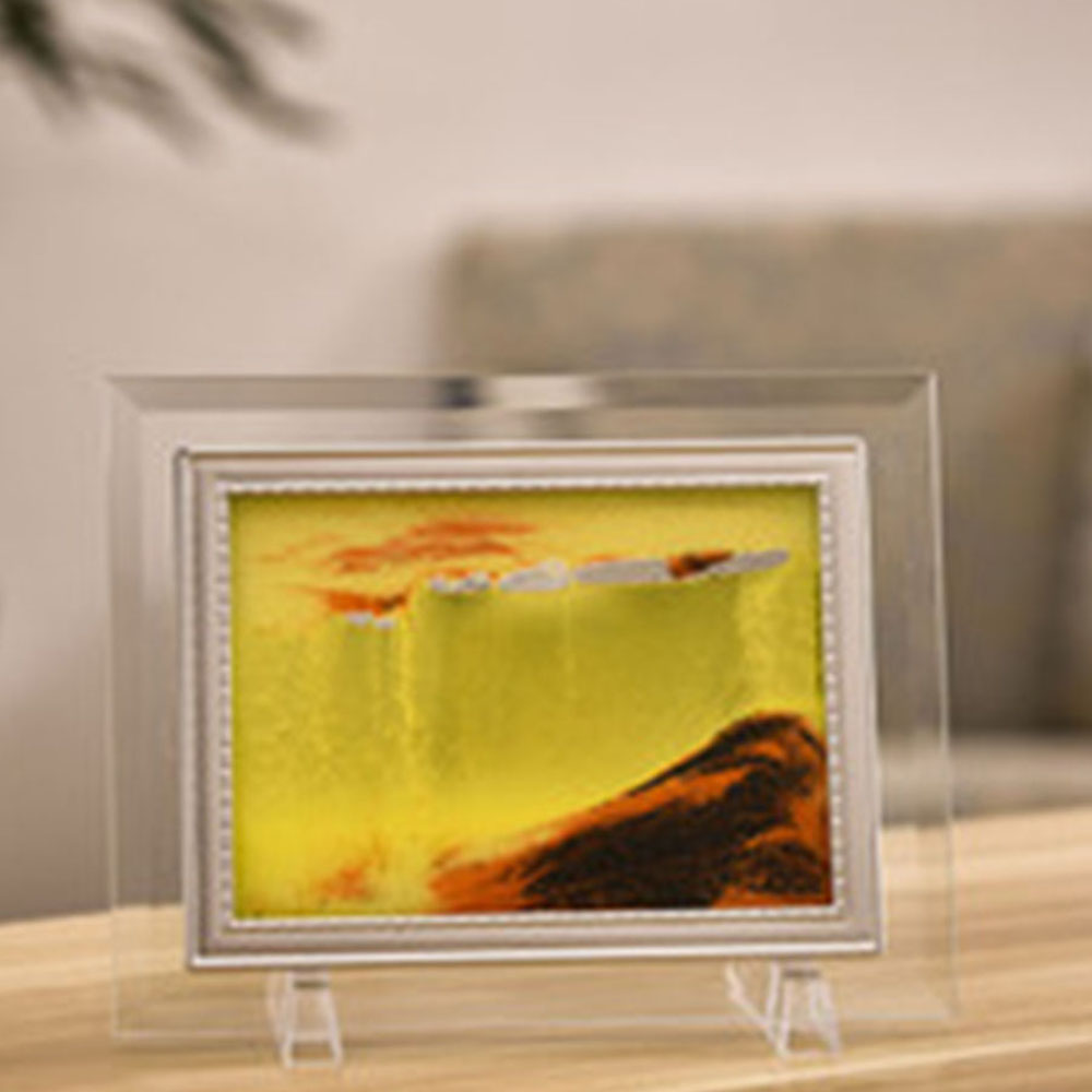Holiday birthday gift study room living room creative sand painting- Multi-A