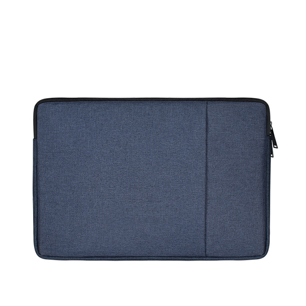Zipper Tablet PC Protect Notebook Computer Bag for MacBook Air 11.6 Inch-ND01- Black