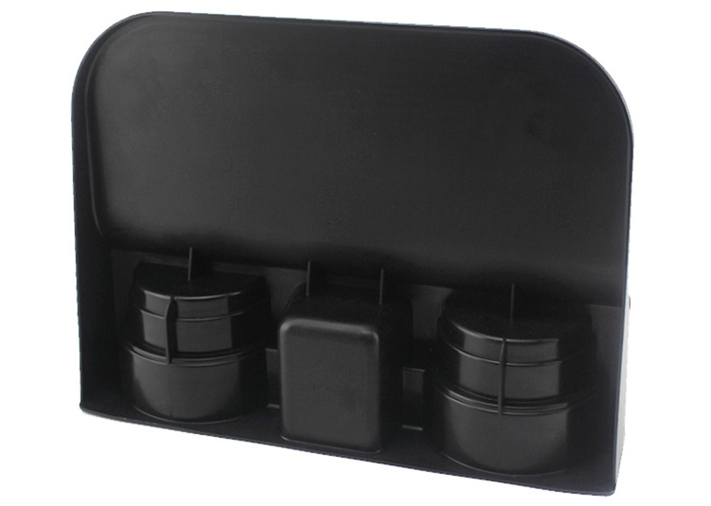 BY - 125 3 in 1 Multifunctional Drink Stand Car Cup Holder- Black