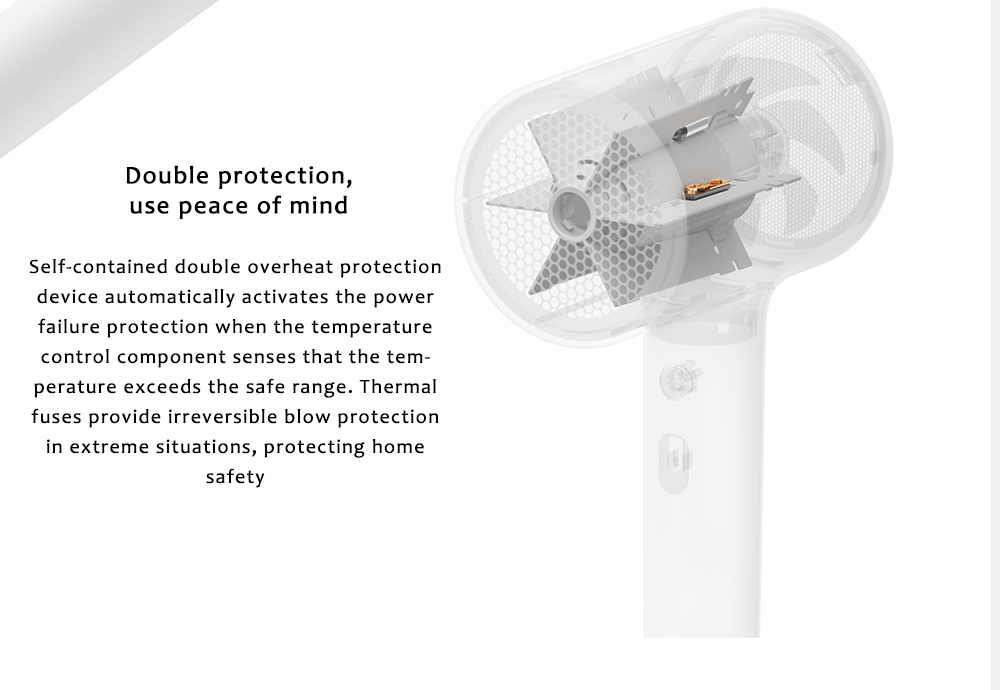 Xiaomi Mijia CMJ0LX Water Ion Hair Dryer- White