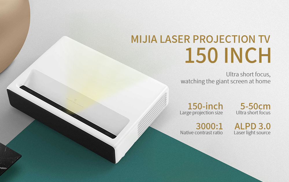 Xiaomi Mijia Laser Projector - Ultra Short Throw