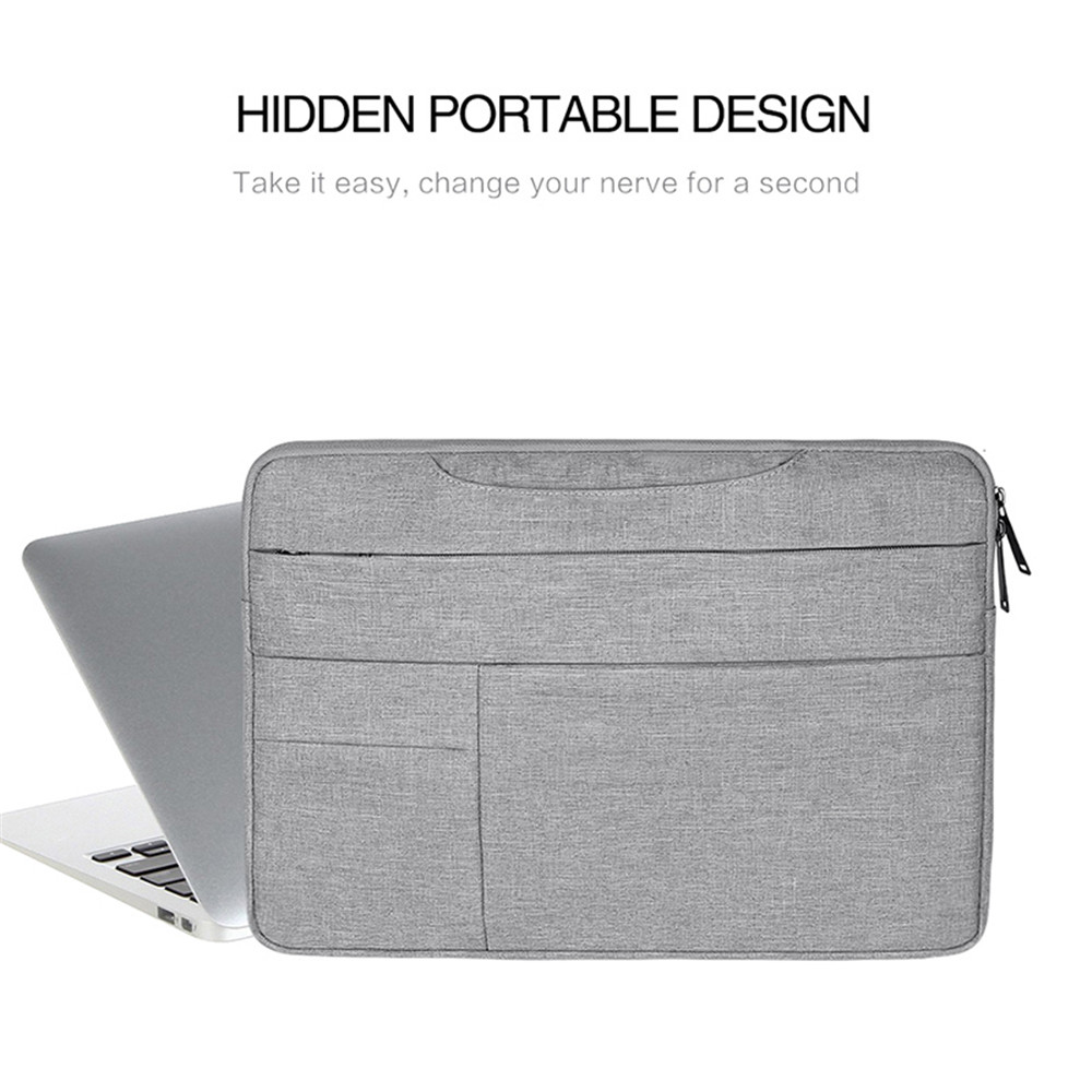 Zipper Portable Protect Notebook Computer Bag for Asus 13.3 Inch-ND05S- Cadetblue