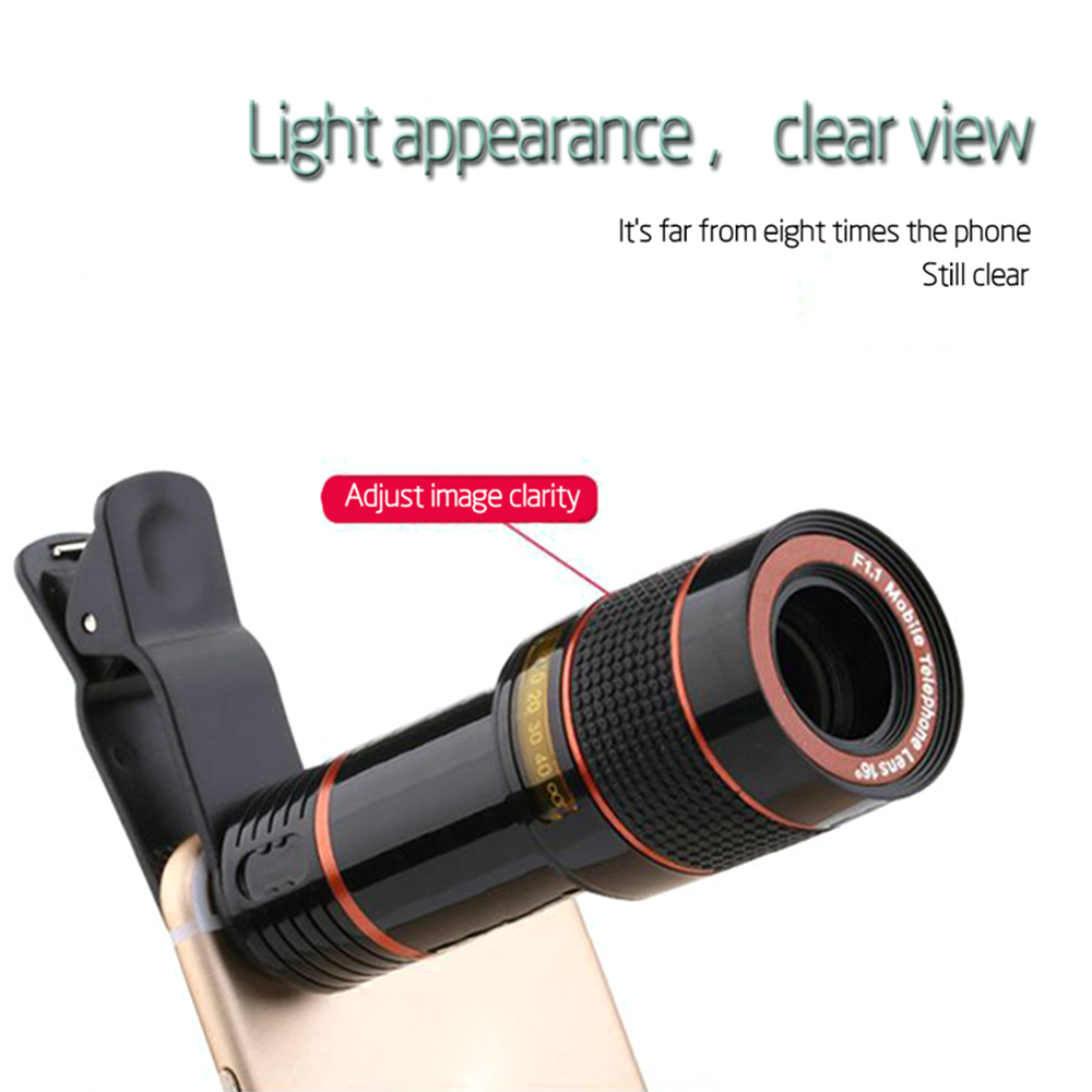 Eight Times Common Mobile Special-Effects High-Definition Camera Zoom Lens
