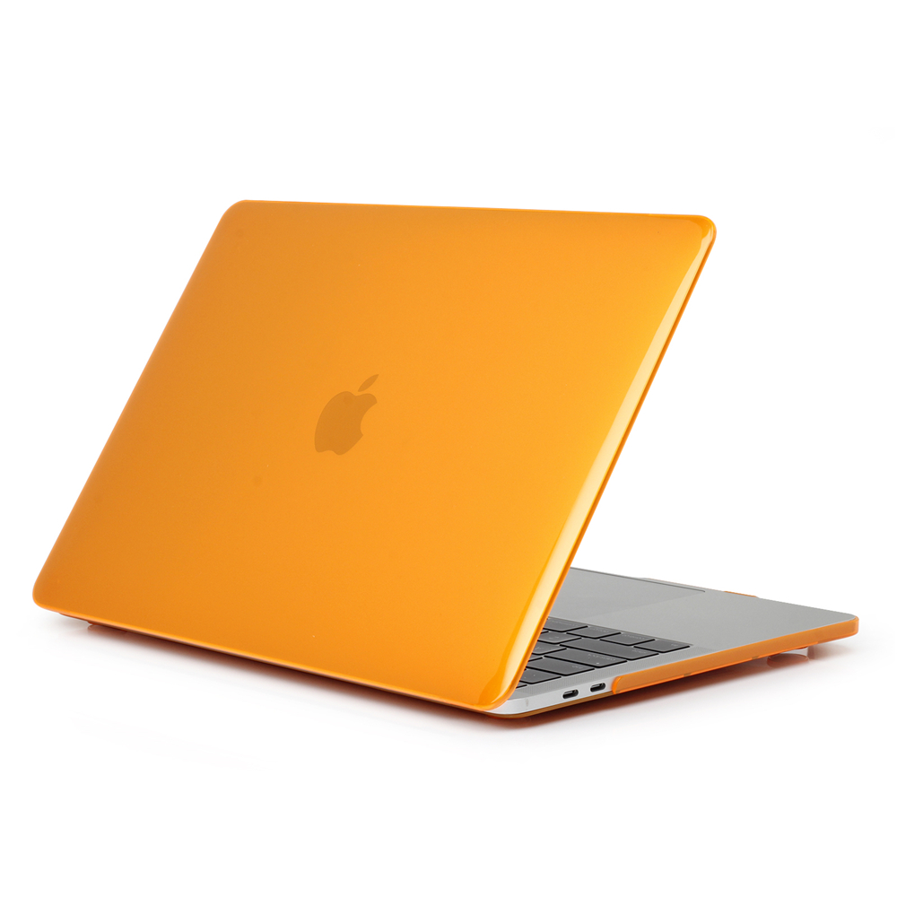 For MacBook 2016 New Pro 13.3 Inch Color Transparent Crystal Protective Case- Transparent