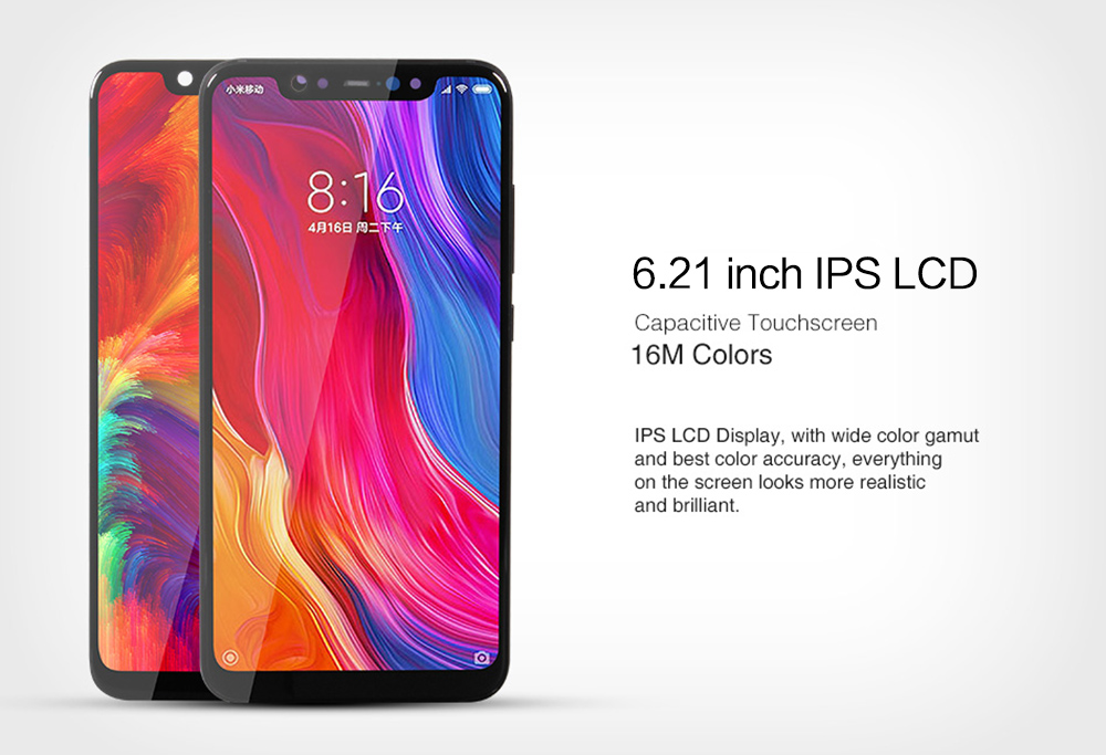 Xiaomi Touch LCD Screen Display for Xiaomi Mi 8