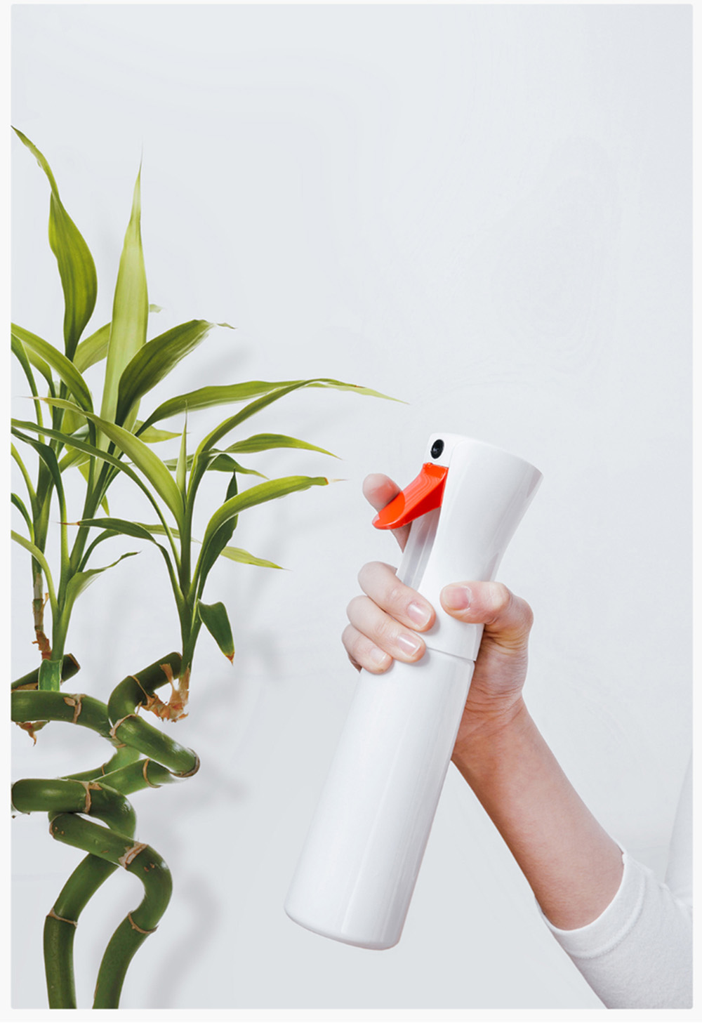 YG - 01 Time Delay Spray Bottle from Xiaomi Youpin- Milk White