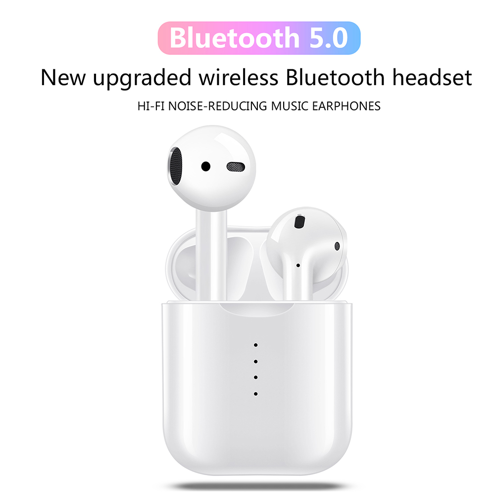 i10 TWS Bluetooth 5 0 Earphones Stereo Wireless Charging Earbuds Bluetooth