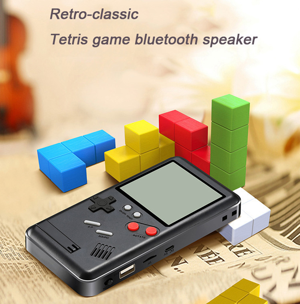 D 11 Bluetooth Speaker Support Fm Tf Card Phone Holder Game Console Sale Price Reviews Gearbest