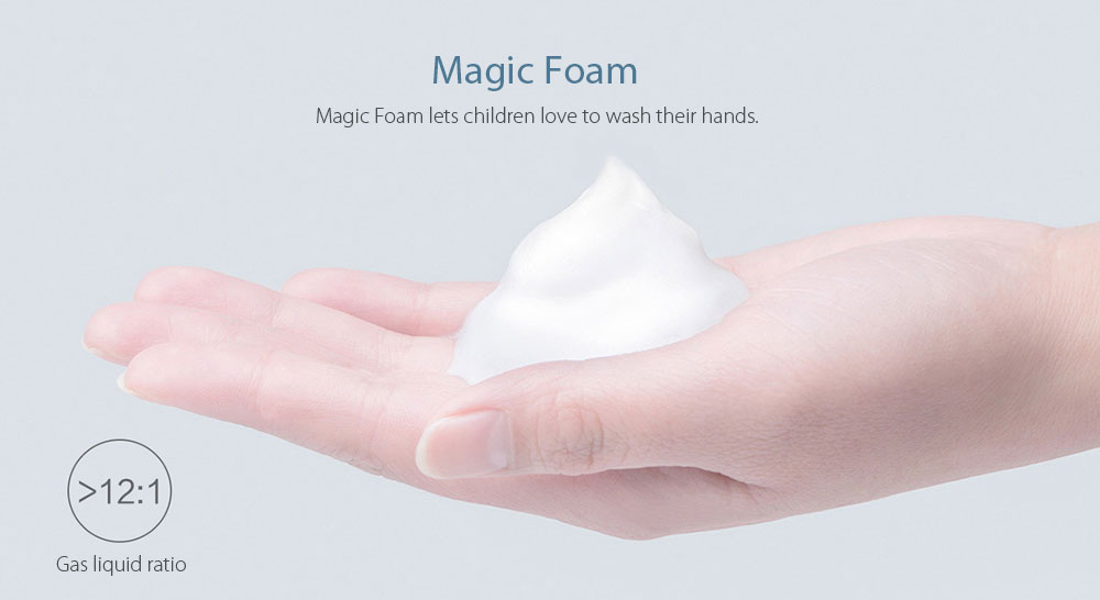 Auto Foaming Hand Washer Automatic Touch-less Soap Dispenser- White
