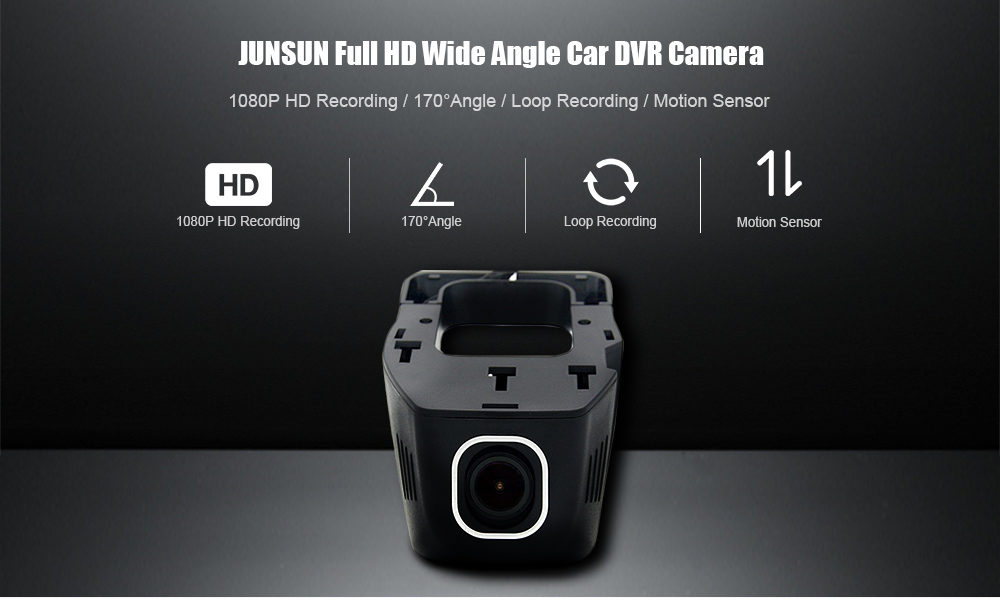 CYHY Car Dash cam for BMW 1080P Wifi 170 Wide Angle support G-sensor Motion Detection Loop Recording without 16GB TF card