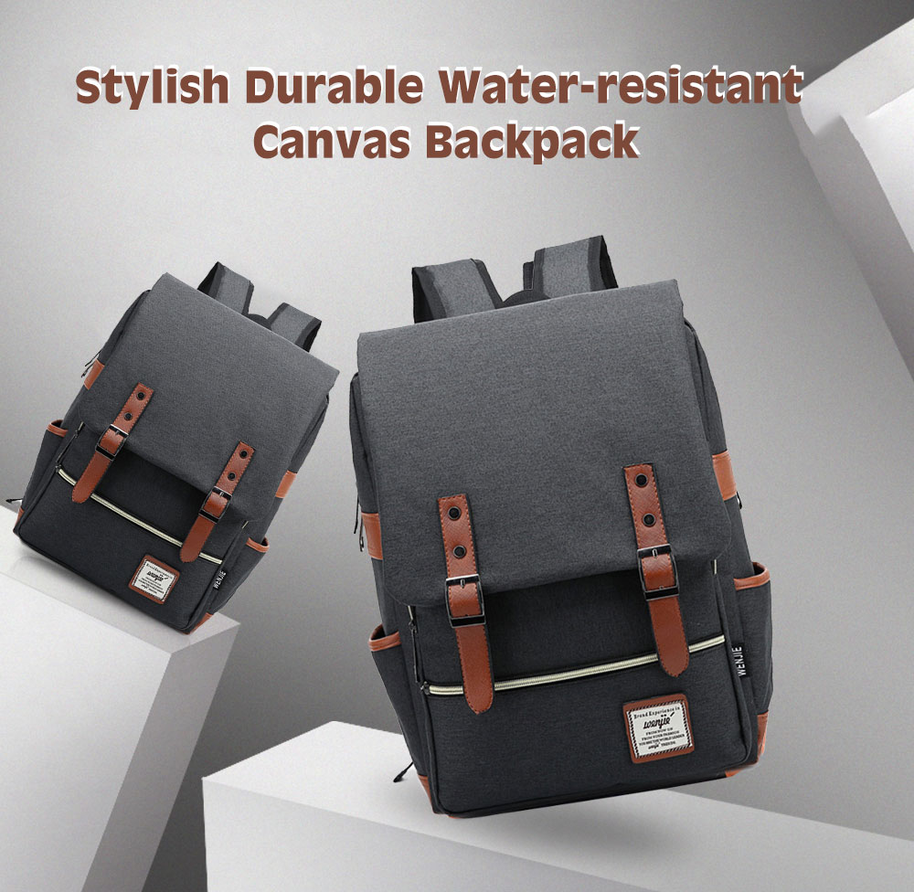 Water-resistant Canvas Backpack -  19.33 Free Shipping ce056e0c4fe3b
