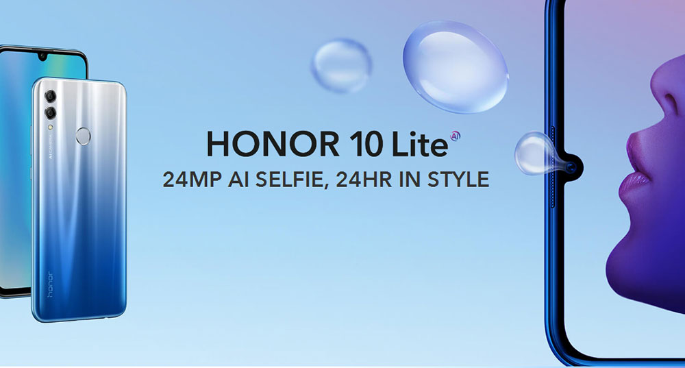 HUAWEI Honor 10 Lite 4+64GB Global Version