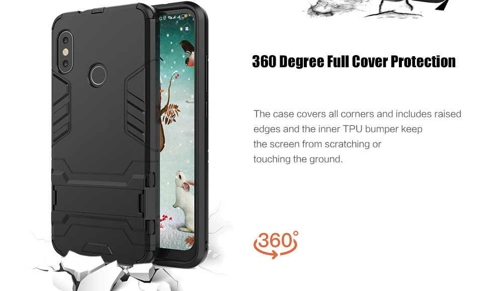 Shockproof Protection Case for Xiaomi Mi A2 Lite