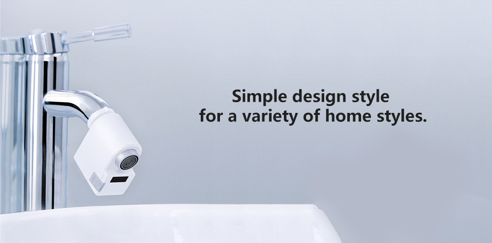 Xiaomi Automatic Sense Infrared Induction Water Saving Device Sink Faucet for Kitchen Bathroom - White
