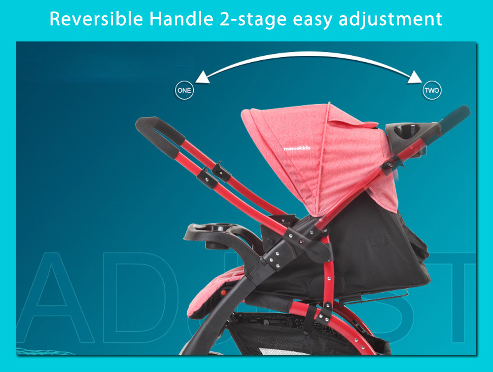 Mamakids 2-in-1 K-98KC Multi-function Stroller Carry pushchair Fold Compact Pram