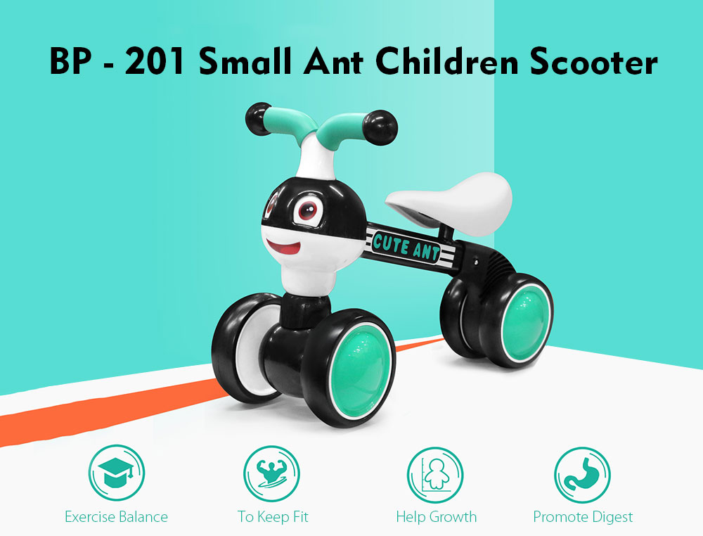 BP - 201 Small Ant Children Scooter- Red
