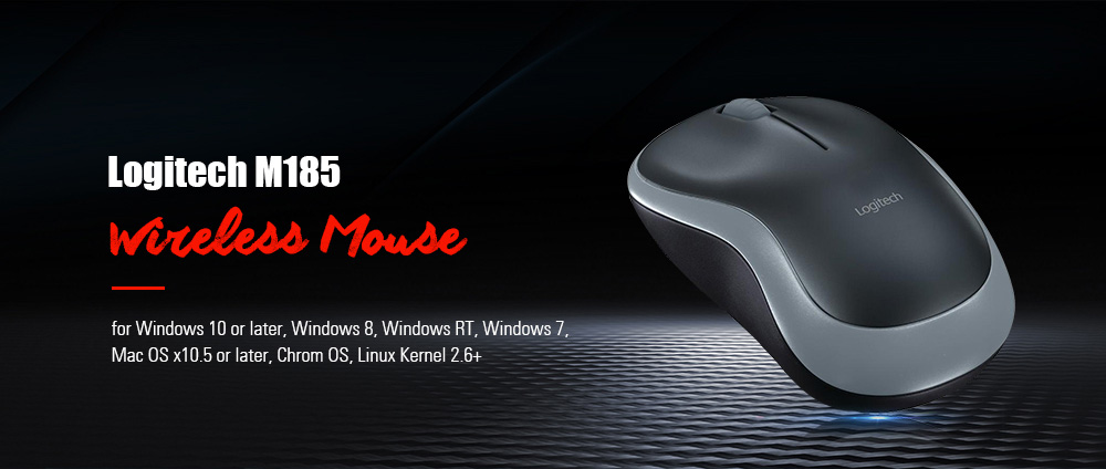Logitech M185 2 4G Gaming Wireless Mouse