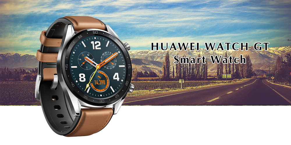 HUAWEI WATCH GT Smart Watch- Black
