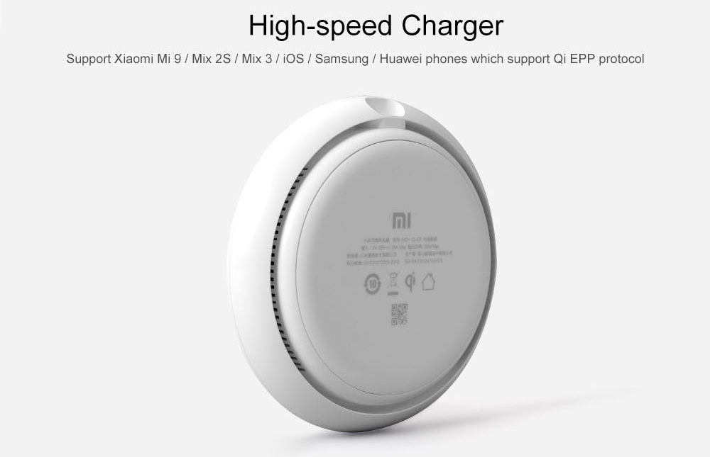 Xiaomi 20W High-speed Wireless Charger- White