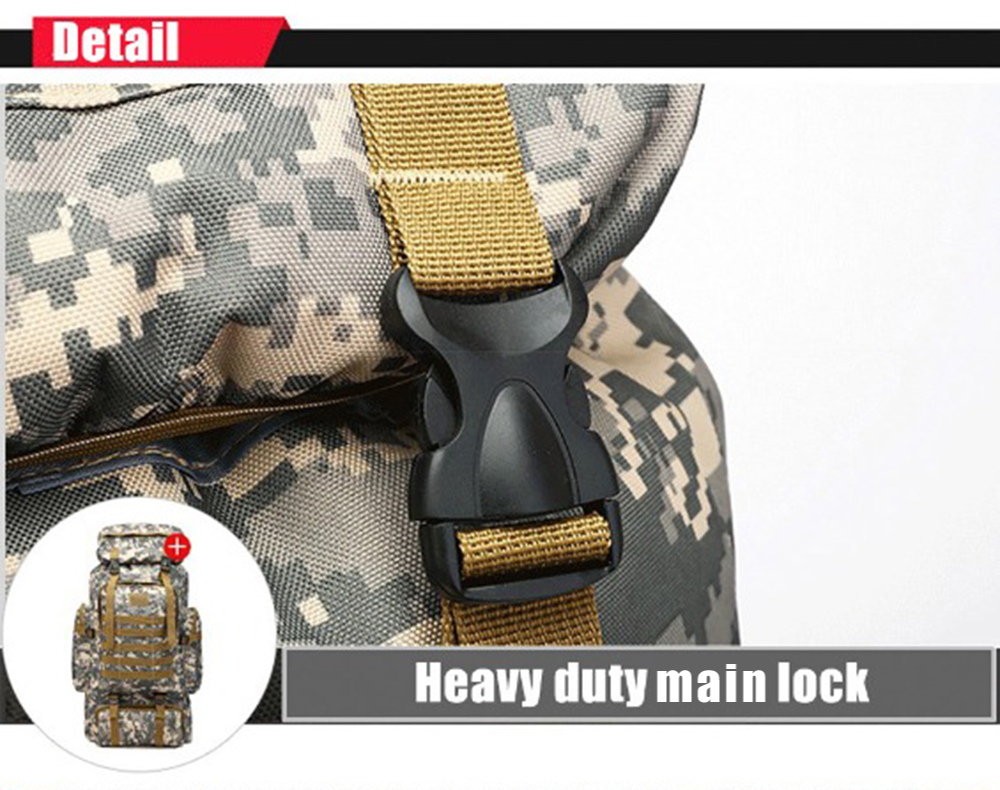 Large Capacity Multi-A Army Luggage Camouflage Backpack