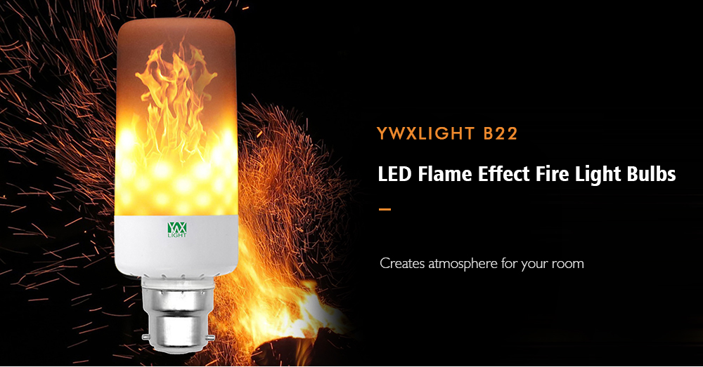 Led Flame Effect.Ywxlight B22 Led Flame Effect Fire Light Bulbs