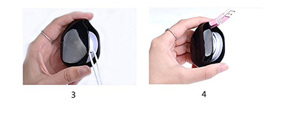 Automatic Cable Winder Cord Organizer Holder For Headphones Cables